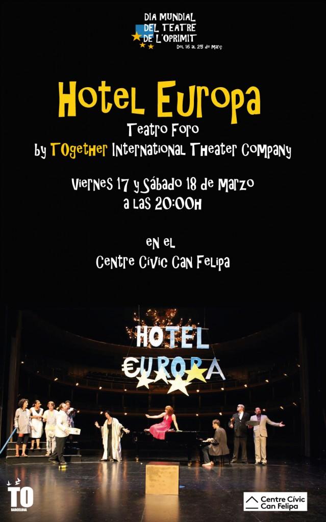 Cartel Hotel Europa