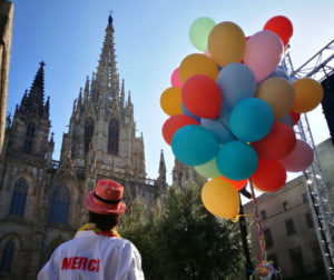 Barcelona Magic Line-Una plaça plena de Gràcies